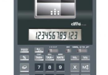 SUMADORA CIFRA PR-1200