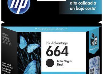 CARTUCHO HP 664 NEGRO