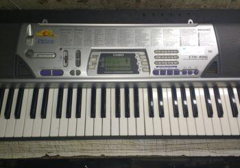 TECLADO CASIO CTK-496 ($4.800)